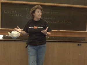 Oregon State University's Dr. Lisbeth Goddik-Meunier taught the seminar.