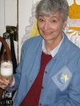 Linda Hohenboken enjoying the aperitif course.